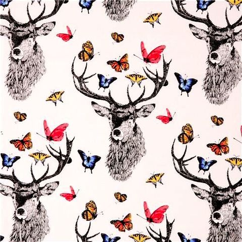 Cotton,Quilt,Fabric,Dear,Butterfly,Main,Large,Graphic,White,Multi,,quilt backing, dresses, quilt fabric,cotton material,auntie chris quilt,sewing,crafts,quilting,online fabric,sale fabric