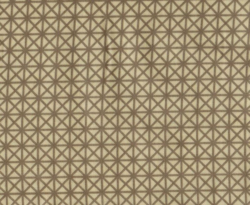 Cotton Quilt Fabric Emma And Myrtle Radiator Cover Stone Gray - product images  of