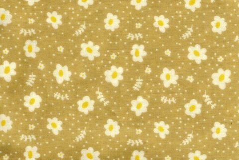 Cotton,Quilt,Fabric,Emma,And,Myrtle,Floral,Apron,Natural,Tan,,quilt backing, dresses, quilt fabric,cotton material,auntie chris quilt,sewing,crafts,quilting,online fabric,sale fabric