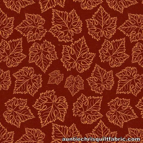 Cotton,Quilt,Fabric,Tonal,Grape,Leaves,Wine,By,Wild,Apple,,quilt backing, dresses, quilt fabric,cotton material,auntie chris quilt,sewing,crafts,quilting,online fabric,sale fabric