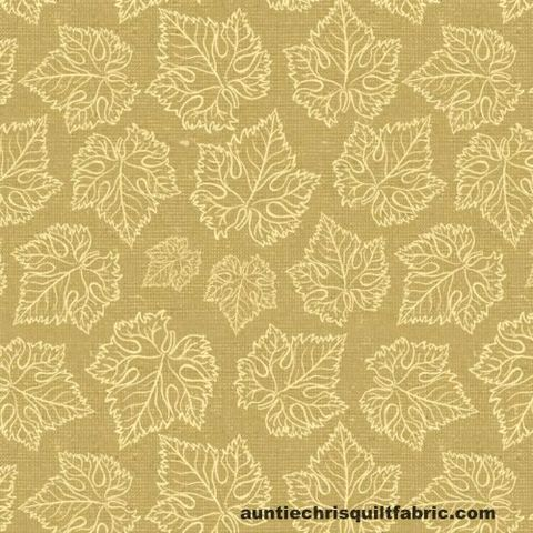 Cotton,Quilt,Fabric,Tonal,Grape,Leaves,Cream,Beige,By,Wild,Apple,,quilt backing, dresses, quilt fabric,cotton material,auntie chris quilt,sewing,crafts,quilting,online fabric,sale fabric