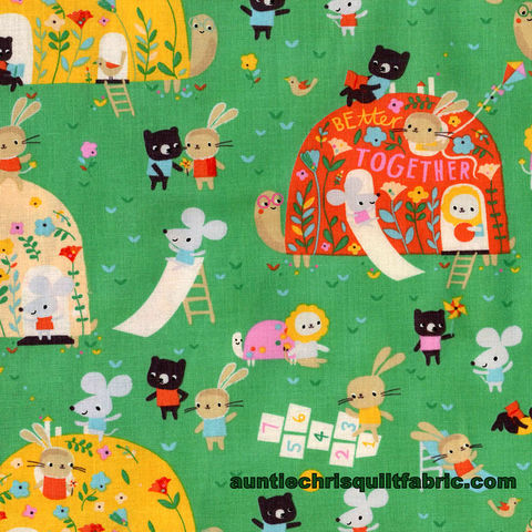 Cotton,Quilt,Fabric,Dear,Stella,Out,Of,My,Shell,Billiard,Green,Kids,Babies,,quilt backing, dresses, quilt fabric,cotton material,auntie chris quilt,sewing,crafts,quilting,online fabric,sale fabric