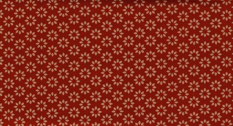 Cotton,Quilt,Fabric,Omoshiro,Spice,Red,Tan,Floral,Cut,Yards,,quilt backing, dresses, quilt fabric,cotton material,auntie chris quilt,sewing,crafts,quilting,online fabric,sale fabric