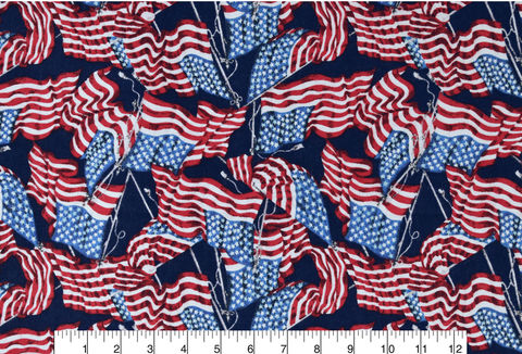 Cotton,Quilt,Fabric,Flannel,Flying,Flags,Patriotic,American,Valor,,quilt backing, dresses, quilt fabric,cotton material,auntie chris quilt,sewing,crafts,quilting,online fabric,sale fabric