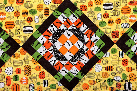 Simply,Batty,Halloween,Fall,Autumn,Table,Runner,Kit,13,x,38,kit,quilt fabric,cotton material,auntie chris quilt,sewing,crafts,quilting,online fabric,sale fabric