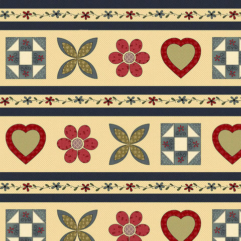 Cotton,Quilt,Fabric,Home,Sewn,Border,Stripe,Hearts,Flowers,blocks,,quilt backing, dresses, quilt fabric,cotton material,auntie chris quilt,sewing,crafts,quilting,online fabric,sale fabric