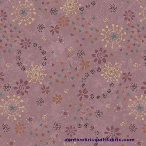 Cotton,Quilt,Fabric,My,Back,Porch,Dusty,Lavender,Whimsical,Floral,,quilt backing, dresses, quilt fabric,cotton material,auntie chris quilt,sewing,crafts,quilting,online fabric,sale fabric