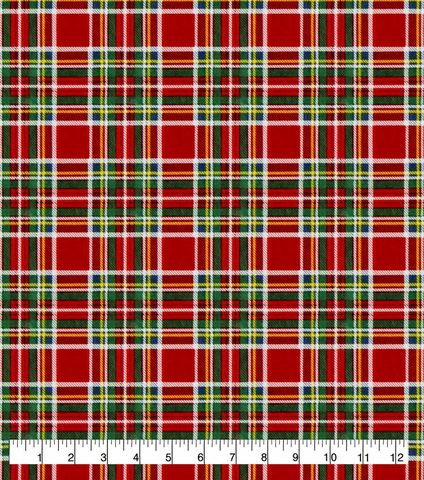 Cotton,Quilt,Fabric,Flannel,Super,Snuggle,Christmas,Tartan,Plaid,,quilt backing, dresses, quilt fabric,cotton material,auntie chris quilt,sewing,crafts,quilting,online fabric,sale fabric