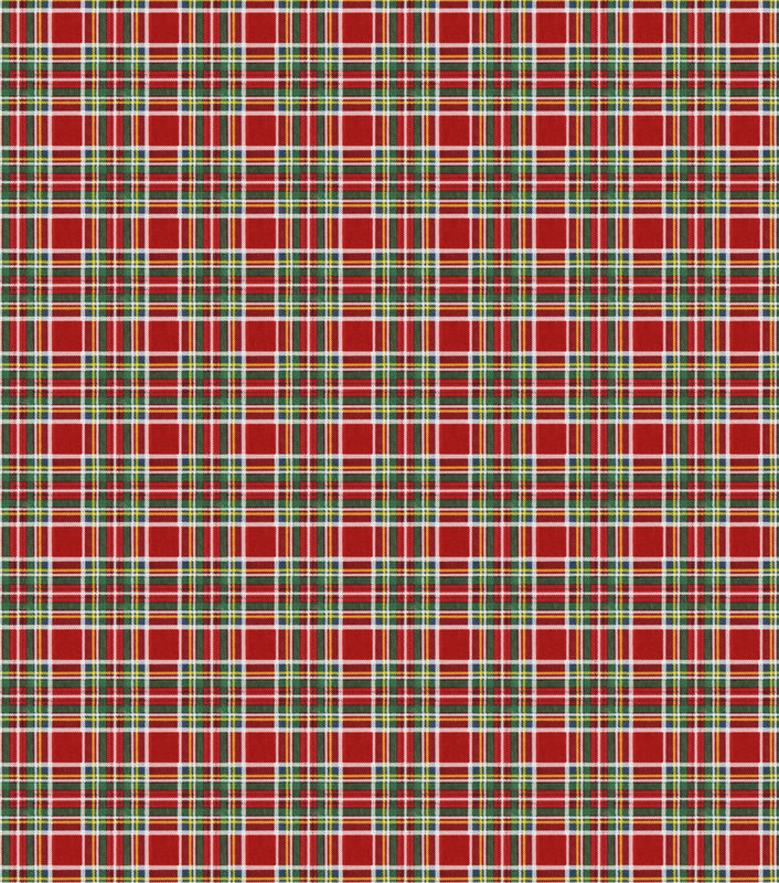 Cotton Quilt Fabric Flannel Super Snuggle Christmas Tartan Plaid - product images  of