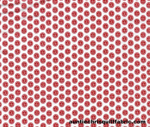 Cotton,Quilt,Fabric,Christmas,Peppermint,Dots,Red,White,60,Wide,,quilt backing, dresses, quilt fabric,cotton material,auntie chris quilt,sewing,crafts,quilting,online fabric,sale fabric