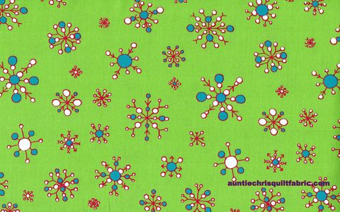 Cotton,Quilt,Fabric,Christmas,Snowflakes,On,Lime,Green,60,Wide,,quilt backing, dresses, quilt fabric,cotton material,auntie chris quilt,sewing,crafts,quilting,online fabric,sale fabric