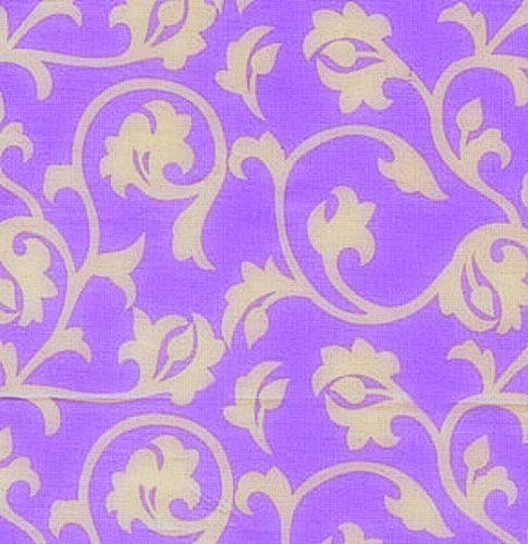 Cotton Quilt Fabric Fall House Pool Lilac Annette Tatum   - product image