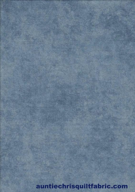Cotton Quilt Fabric Shadow Play Jeans Blue Tonal - product images  of