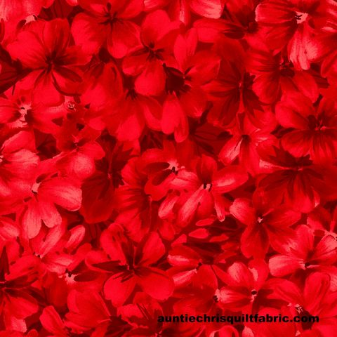 Cotton,Quilt,Fabric,Chloe,Tonal,Geraniums,Red,Floral,,quilt backing, dresses, quilt fabric,cotton material,auntie chris quilt,sewing,crafts,quilting,online fabric,sale fabric