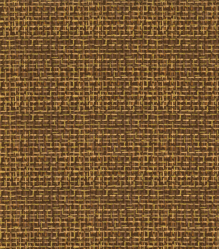 Cotton Quilt Fabric Keepsake Calico Glitter Brown Haystack Tweed - product images  of