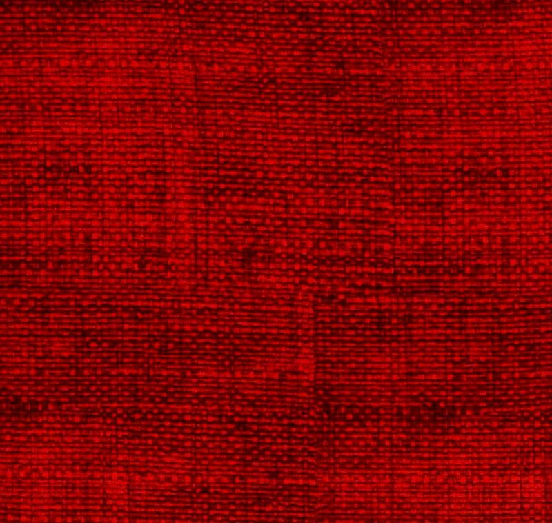 Cotton Quilt Fabric Faux Burlap Texture Blenders Ruby Red - product images  of