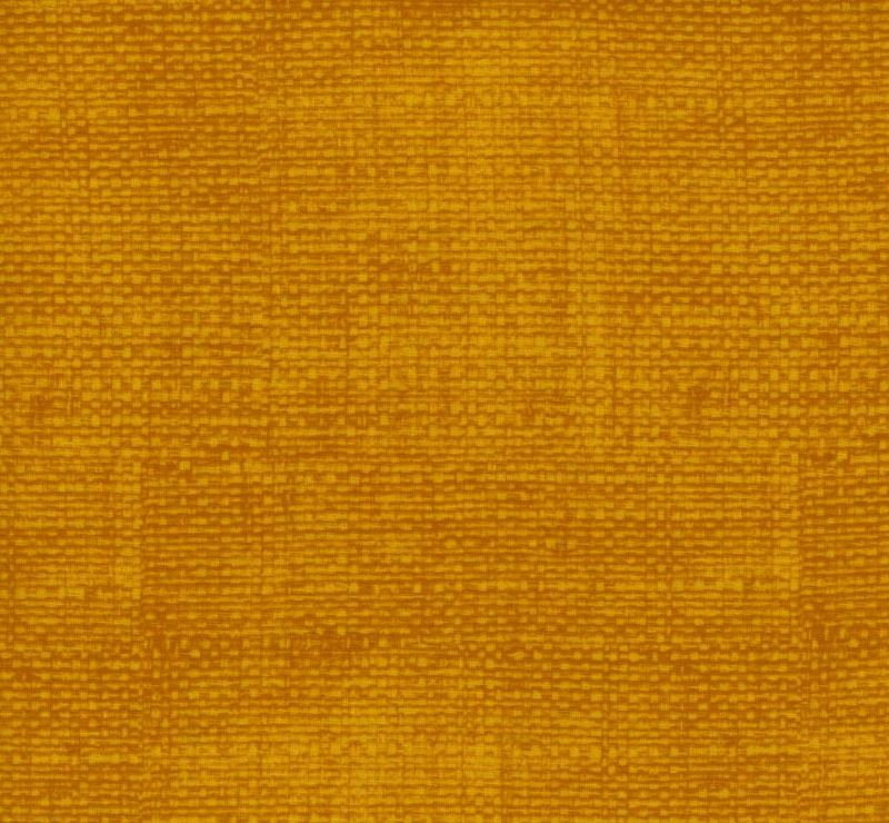 Cotton Quilt Fabric Faux Burlap Texture Blenders Harvest Gold - product images  of