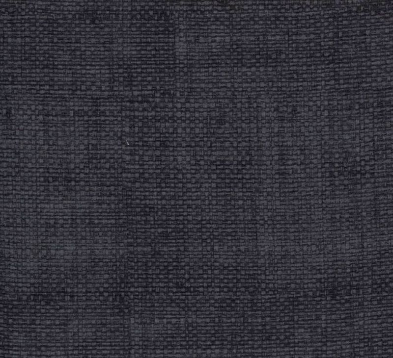 Cotton Quilt Fabric Faux Burlap Texture Blenders Dark Gray - product images  of