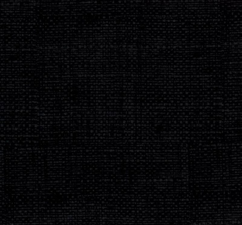 Cotton Quilt Fabric Faux Burlap Texture Blenders Black - product images  of