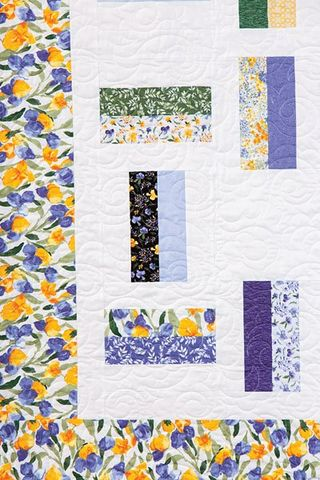 Lovely,Spring,Iris,Regelia,Waltz,Quilt,Kit,66,x,92,,quilt backing, dresses, quilt fabric,cotton material,auntie chris quilt,sewing,crafts,quilting,online fabric,sale fabric