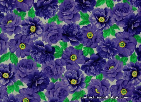 Cotton,Quilt,Fabric,Keepsake,Calico,FLOWER,GARDEN,Purple,16706,,quilt backing, dresses, quilt fabric,cotton material,auntie chris quilt,sewing,crafts,quilting,online fabric,sale fabric