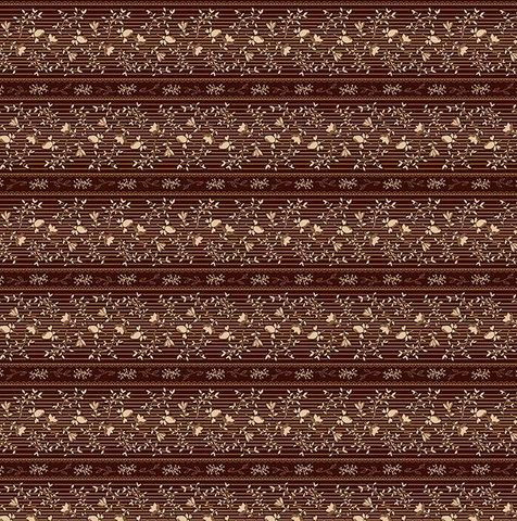 Cotton,Quilt,Fabric,Clementines,Bonnet,Floral,Stripe,Reproduction,Brown,Multi,,quilt backing, dresses, quilt fabric,cotton material,auntie chris quilt,sewing,crafts,quilting,online fabric,sale fabric