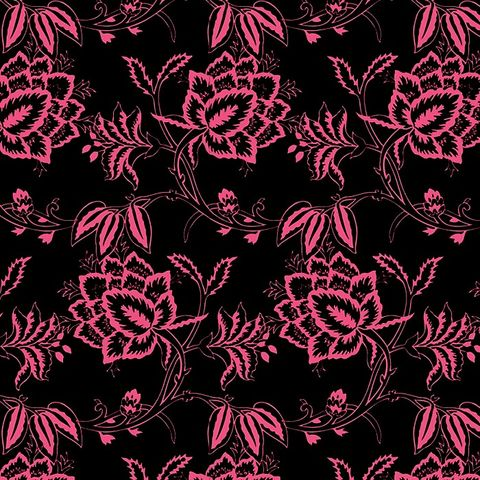Cotton,Quilt,Fabric,Parisian,Floral,Black,Pink,,quilt backing, dresses, quilt fabric,cotton material,auntie chris quilt,sewing,crafts,quilting,online fabric,sale fabric