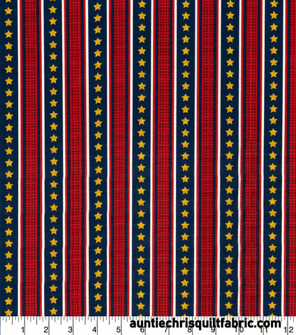 Cotton,Quilt,Fabric,Patriotic,Stripes,with,Gold,Stars,Glitter,,quilt backing, dresses, quilt fabric,cotton material,auntie chris quilt,sewing,crafts,quilting,online fabric,sale fabric