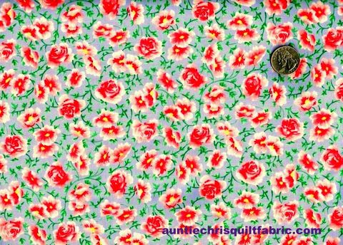 Cotton,Quilt,Fabric,Emma,Collection,Floral,Pink,Red,Roses,Lilac,Multi,,quilt backing, dresses, quilt fabric,cotton material,auntie chris quilt,sewing,crafts,quilting,online fabric,sale fabric