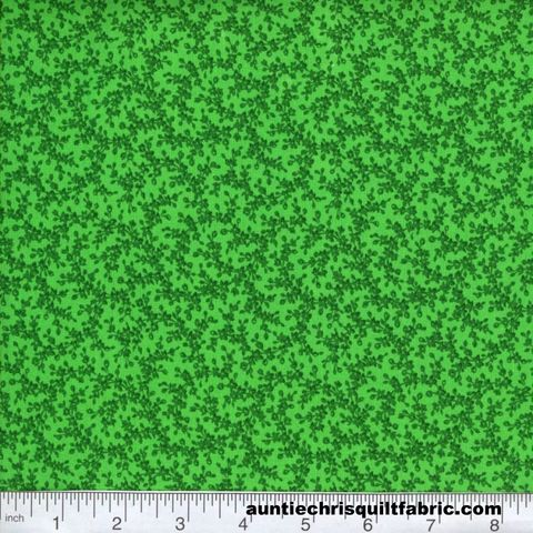 Cotton,Quilt,Fabric,Quilters,Calico,Kelly,Green,Tone,On,Floral,,quilt backing, dresses, quilt fabric,cotton material,auntie chris quilt,sewing,crafts,quilting,online fabric,sale fabric