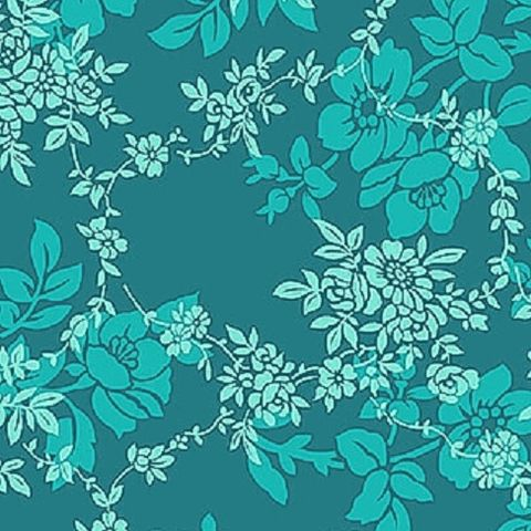 Cotton,Quilt,Fabric,Sweet,Perfume,Peacock,Floral,Tone,On,,quilt backing, dresses, quilt fabric,cotton material,auntie chris quilt,sewing,crafts,quilting,online fabric,sale fabric