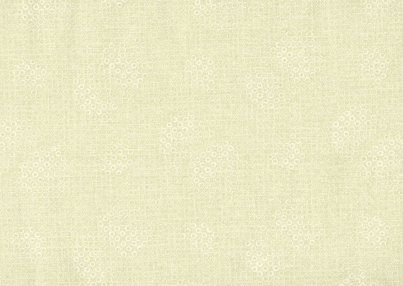 Cotton Quilt Fabric Cream & Sugar III Dot Circles White On Off White - product images  of
