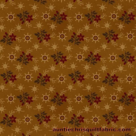 Cotton,Quilt,Fabric,Spirit,of,America,Folk,Calico,Gold,Floral,reproduction,,quilt backing, dresses, quilt fabric,cotton material,auntie chris quilt,sewing,crafts,quilting,online fabric,sale fabric