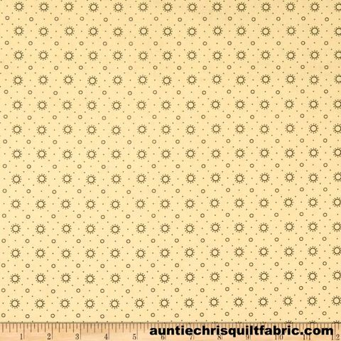 Cotton,Quilt,Fabric,Blush,&,Blue,Sunburst,Cream,Reproduction,Kim,Diehl,,quilt backing, dresses, quilt fabric,cotton material,auntie chris quilt,sewing,crafts,quilting,online fabric,sale fabric