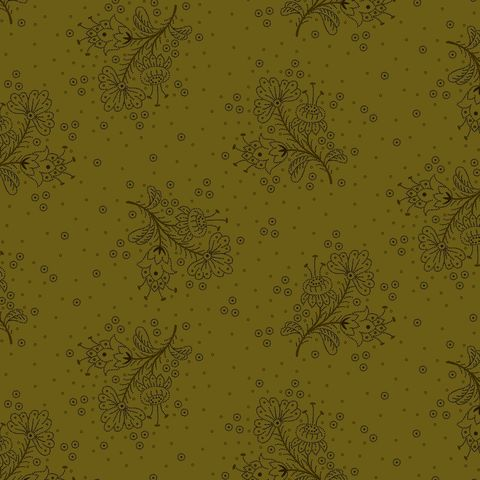 Cotton,Quilt,Fabric,Esters,Heirloom,Shirtings,Floral,Sprays,Green,Kim,Diehl,,quilt backing, dresses, quilt fabric,cotton material,auntie chris quilt,sewing,crafts,quilting,online fabric,sale fabric