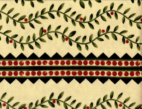 Cotton,Quilt,Fabric,Quality,Flannel,Folk,Art,Garden,Berry,Vine,Border,,quilt backing, dresses, quilt fabric,cotton material,auntie chris quilt,sewing,crafts,quilting,online fabric,sale fabric