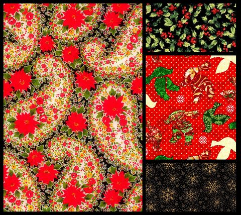 Quick,Cuts,Cotton,Quilt,Fabric,Christmas,Remembered,Coordinated,2,Yard,Medley,,quilt backing, dresses, quilt fabric,cotton material,auntie chris quilt,sewing,crafts,quilting,online fabric,sale fabric