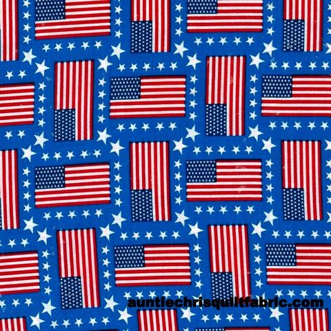 Cotton,Quilt,Fabric,Patriotic,USA,Made,Stars,&,Stripes,American,Flags,Red,White,Blue,,quilt backing, dresses, quilt fabric,cotton material,auntie chris quilt,sewing,crafts,quilting,online fabric,sale fabric
