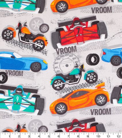 Cotton,Quilt,Fabric,Flannel,Fast,Cars,Gray,Multi,,quilt backing, dresses, quilt fabric,cotton material,auntie chris quilt,sewing,crafts,quilting,online fabric,sale fabric
