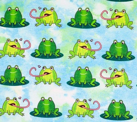 Cotton,Quilt,Fabric,Flannel,Frogs,Blue,Multi,,quilt backing, dresses, quilt fabric,cotton material,auntie chris quilt,sewing,crafts,quilting,online fabric,sale fabric