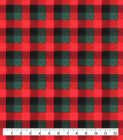 Cotton,Quilt,Fabric,Flannel,Christmas,Red,Green,Buffalo,Check,,quilt backing, dresses, quilt fabric,cotton material,auntie chris quilt,sewing,crafts,quilting,online fabric,sale fabric