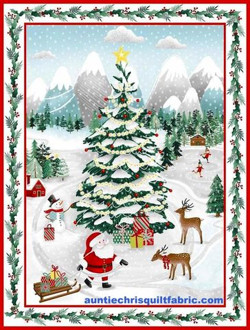 Cotton,Quilt,Fabric,Christmas,Peace,&,Goodwill,Wonderland,Panel,24,,quilt backing, dresses, quilt fabric,cotton material,auntie chris quilt,sewing,crafts,quilting,online fabric,sale fabric