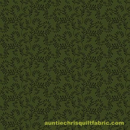 Cotton,Quilt,Fabric,Country,Journey,Trailing,Vines,Forest,Green,Tone,On,,quilt backing, dresses, quilt fabric,cotton material,auntie chris quilt,sewing,crafts,quilting,online fabric,sale fabric