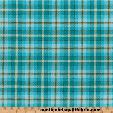 Cotton,Quilt,Fabric,Live,Love,Meow,Blue,Plaid,Henry,Glass,,quilt backing, dresses, quilt fabric,cotton material,auntie chris quilt,sewing,crafts,quilting,online fabric,sale fabric
