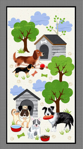 Cotton,Quilt,Fabric,Panel,TIMELESS,TREASURES,FABRICS,DOG'S,LIFE,DOG,PANEL,,quilt backing, dresses, quilt fabric,cotton material,auntie chris quilt,sewing,crafts,quilting,online fabric,sale fabric