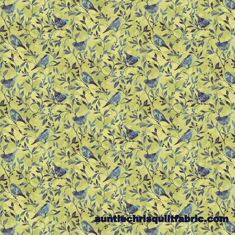 Cotton,Quilt,Fabric,Susan,Winget,Jasmine,Birdy,Vine,,quilt backing, dresses, quilt fabric,cotton material,auntie chris quilt,sewing,crafts,quilting,online fabric,sale fabric