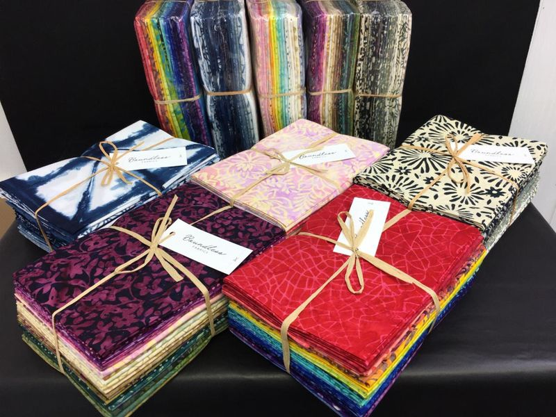 Boundless Batiks Tuscan Village 20 Fat Quarter Collection - product images  of