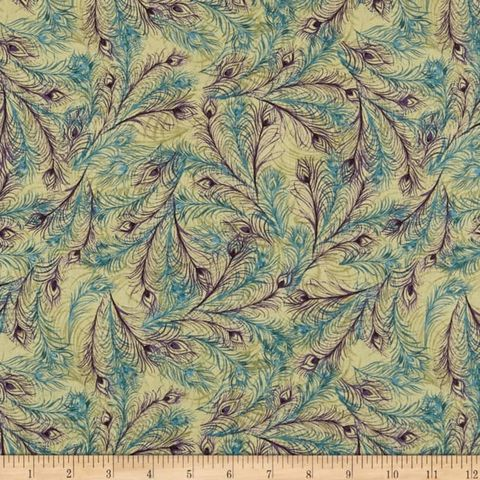 Cotton,Quilt,Fabric,Iridescent,Peacock,Swirling,Feathers,Blue,Purple,,quilt backing, dresses, quilt fabric,cotton material,auntie chris quilt,sewing,crafts,quilting,online fabric,sale fabric