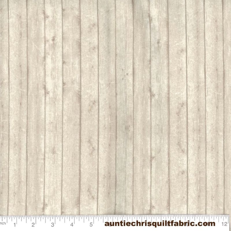 Cotton Quilt Fabric Wood Grain White Wash Texture Blenders Gray - product image