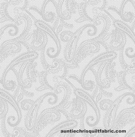 Cotton,Quilt,Fabric,Studio,E,Cream,&,Sugar,IX,Paisley,Gray,,quilt backing, dresses, quilt fabric,cotton material,auntie chris quilt,sewing,crafts,quilting,online fabric,sale fabric